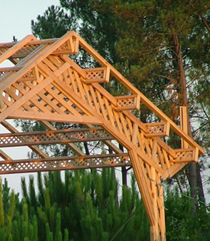 charpente bois originale