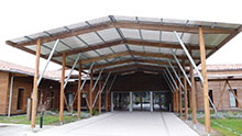 Outdoor canopy structures